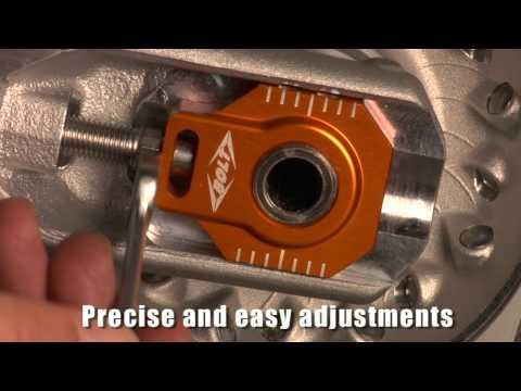 KTM Chain Adjuster Blocks From Bolt Motorcycle Hardware