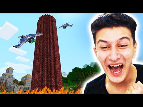 ŞEYTANİ KULEYE GİRDİM 😱 Minecraft 58