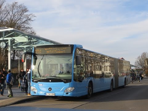 [Sound] Bus Mercedes O 530 G (C2) (Wagennr. 1386) der WSW mobil GmbH, Wuppertal