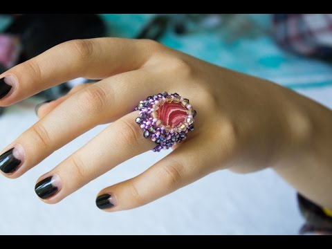 кольцо с кабошоном (Часть 1)