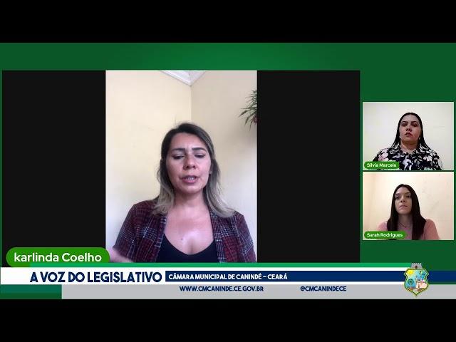 9ª SESSÃO ORDINÁRIA DA CÂMARA MUNICIPAL DE CANINDÉ