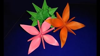 Origami Summer Flower - Special Easy Paper Flower