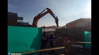 Empiezan a demoler las primeras casas para construir el metro de Bogotá