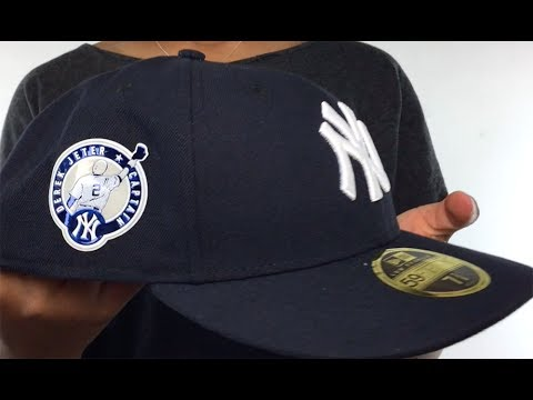 81d30b37d1426 Yankees  2017 JETER LOW-CROWN ONFIELD GAME  Hat by New Era - YouTube