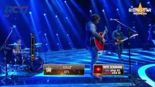 "eRKa ""A Sky Full Of Stars"" Coldplay - Rising Star Indonesia Live Duels 3 Eps 11"