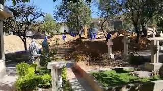 Cochabamba: Realizan excavaciones en el cementerio general para enterrar fallecidos por Covid-19