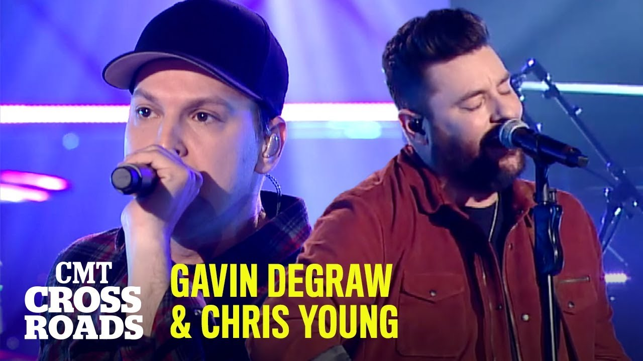 Gavin DeGraw & Chris Young Perform 'Hangin' On'   CMT Crossroads