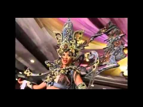 HEBOooH..! Inilah Kostum megah 'The Chronicle of Borobudur' Miss Universe Indonesia