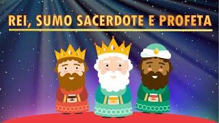 REI, SUMO SACERDOTE E PROFETA - Programa infantojuvenil - Pr. Filipe Barbosa - Episódio 38