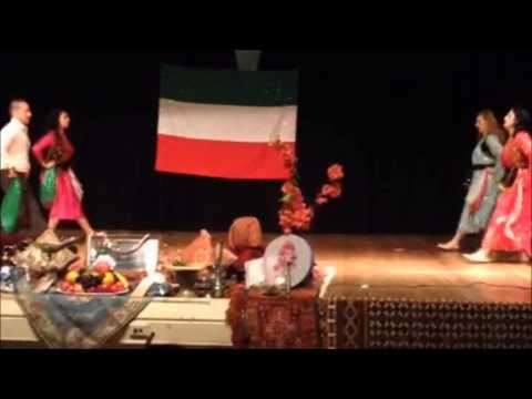 Kurdish Dance at Mehregan Sydney 2013 Persian Dance Academy