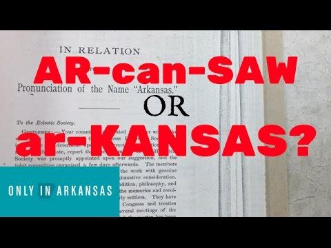 Arkansas Pronunciation - Only in Arkansas
