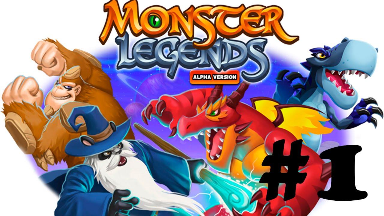 monster legends сочетание монстров