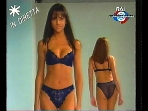 3ac547981 Lingerie catwalk show RAI International Circa 1998 - YouTube