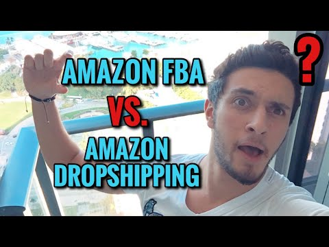 Amazon Dropshipping Vs. Amazon FBA (Mutlaka Amazona Girmeden Izlenmeli) thumbnail