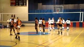 Rachel White ATL Boom Volleyball 17 Orange