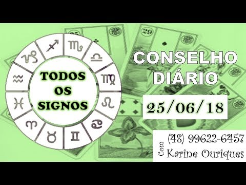 TODOS OS SIGNOS 25/06 - Diário com Karine Ouriques