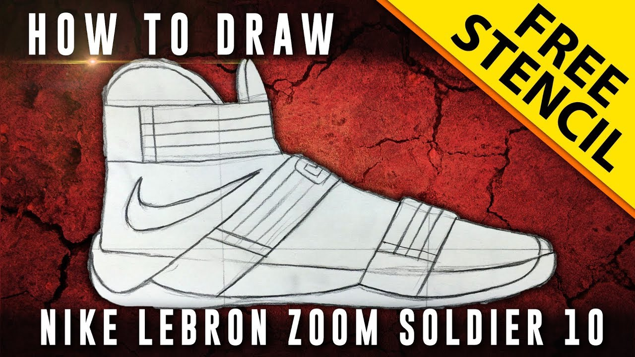 lebron 10 shoe drawing mens health network