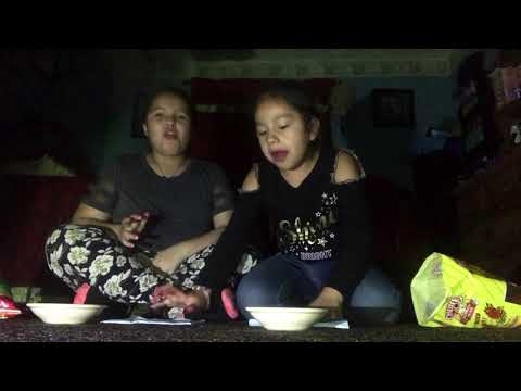 Ruby And Britny Cheeters Vs Hot Cheetos Challenge