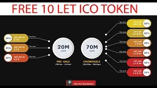 Free 10 Crypto Token | LETBET | Get 10 Tokens Now - Worth 15$ - Upcoming Crypto Currency