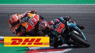 MotoGP #BestBikeMoment 2019 San Marino GP: Moment C - Marquez vs. Quartararo – epic last lap battle