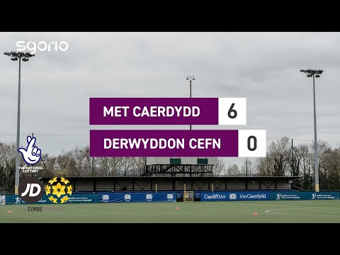 Cardiff Metropolitan Druids Goals And Highlights
