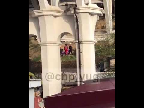 Женщина выжила после падения с Верещагинского моста в Сочи