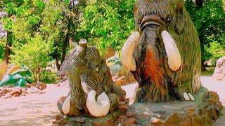 Развлечения в Зоопарке - Парк Атракционов - Весело проводим время в Зоопарке на качелях (0+)