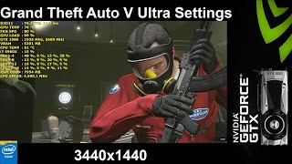 GTA V Ultra Settings 3440x1440 | GTX 1080 FE | i7 5960X 4.5GHz