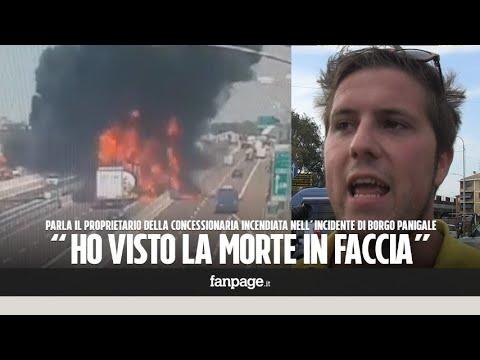 """Esplosione Bologna, i testimoni: """"Abbiamo visto morte in faccia, asfalto si scioglieva"""""""