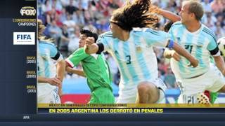 Las semifinales de México en Confederaciones