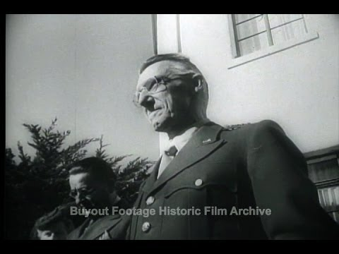HD Historic Archival Stock Footage WWII General Stilwell Takes Over Command