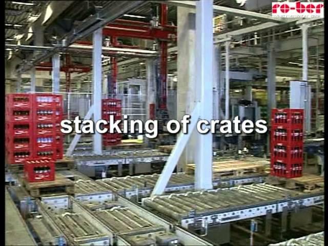 Order Picking Gantry Robotic Palletiser and De-palletiser for mixed pallets - RAUPACK