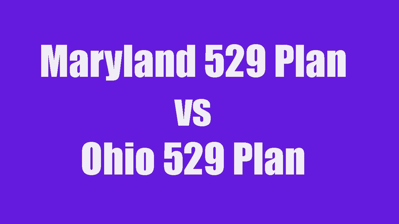529 college savings plan direct - 529 College Savings Plan Comparison Ii Maryland 529 Vs Ohio 529