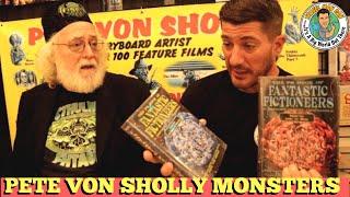 MONSTER ARTIST PETE VON SHOLLY INTERVIEW! -TRAVEL MAN DAN thumbnail