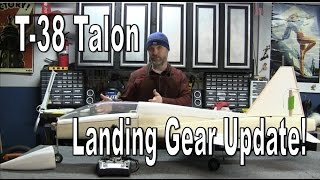 WOWPLANES T-38 Talon - Main Gear and Doors Update
