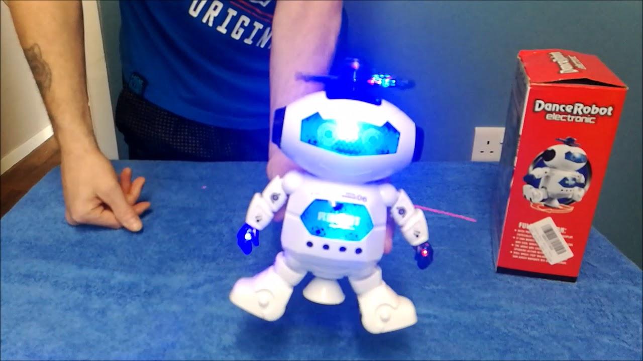 Kids Toys Dancing Robot Music Light Intelligent Robot Funtok Youtube