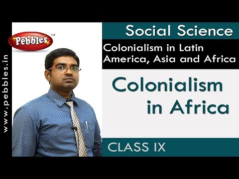 Colonialism in Africa : Colonialism in Latin America | Social | AP&TS Syllabus | Class 9