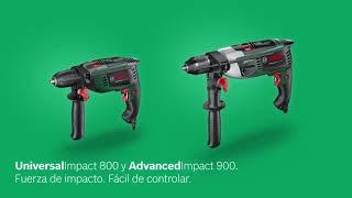 Bosch taladro de percusión UniversalImpact 800 y Bosch taladro de percusión AdvancedImpact 900
