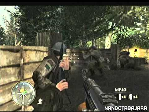 call of duty 3ps2parte 23 youtube