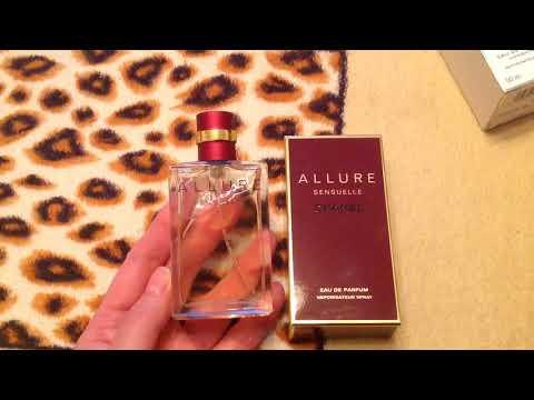 Два парфюма от Шанель (Allure Sensuelle, Cristalle Eau Vertre)