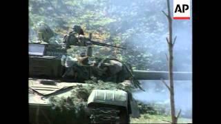 Bosnia - Bosnian Serbs Bring Reinforcements