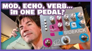 MOD, ECHO AND VERB... IN ONE SIMPLE PEDAL! Crazy Tube Circuits Sidekick