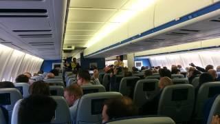 klm md 11 farewell flight international safety instructions
