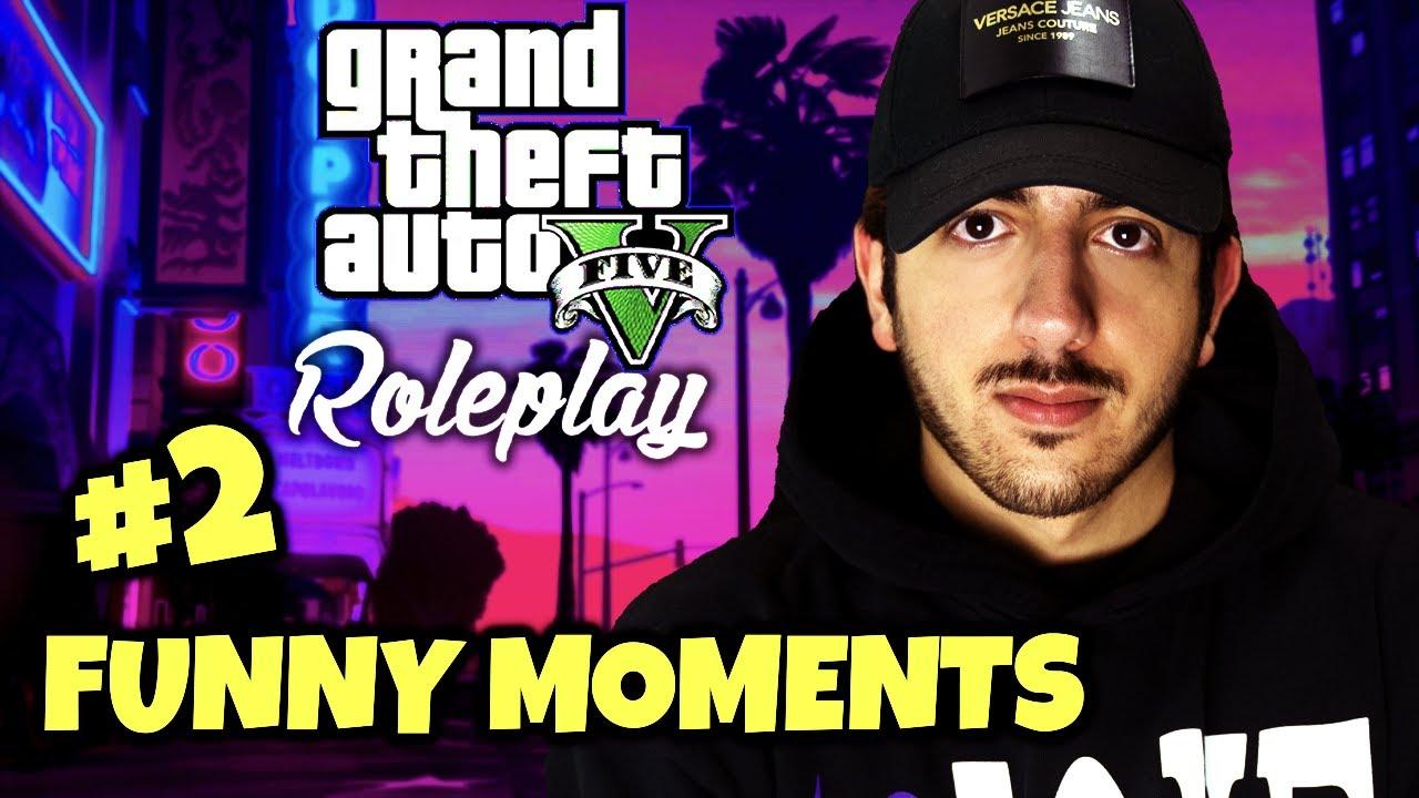 GTA RP FUNNY MOMENTS!!! #2