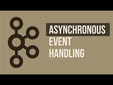 Asynchronous Event Handling Using Microservices and Kafka