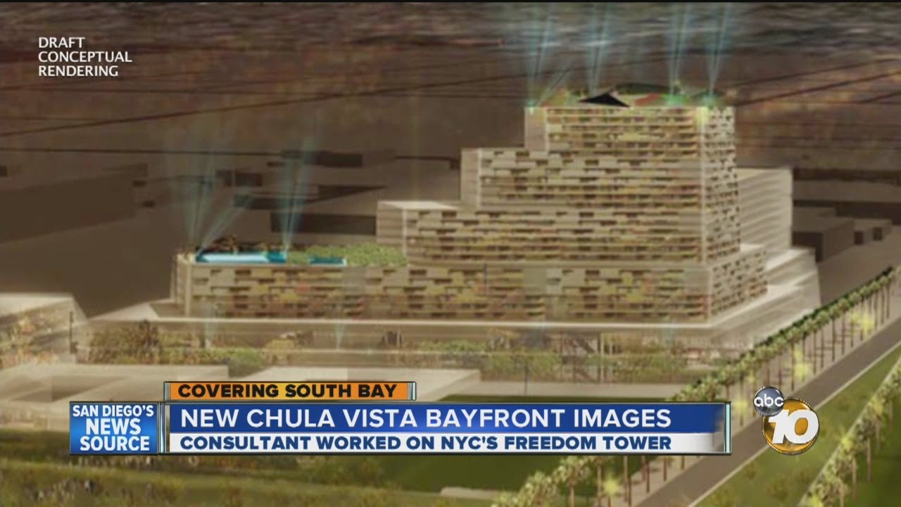 Port of San Diego unveils draft conceptual renderings of Chula Vista