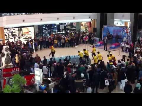 Amman City Mall Flash Mob