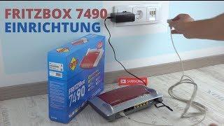 Fritzbox 7490 einrichten ohne Bedienungsanleitung - so geht's