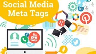 Social Media Meta Tags 2019 | Facebook Meta Tags | SEO Tutorial