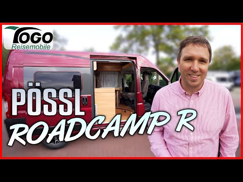 💥 KOMPAKTER KASTENWAGEN 💥 Pössl Roadcamp R 2021 🚿TOGO REISEMOBILE - Raumbad California Alternative?